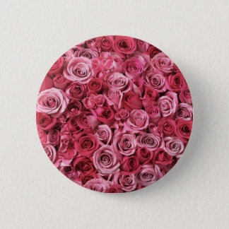 Chapa Redonda De 5 Cm Rosas