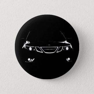 Chapa Redonda De 5 Cm Saab 9-3 aero- botones
