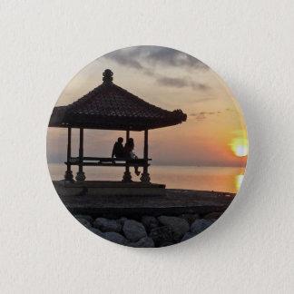 Chapa Redonda De 5 Cm Salida del sol de Beautidul en Bali