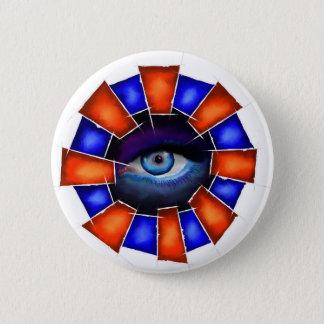 Chapa Redonda De 5 Cm Salvenitus - ojo de observación