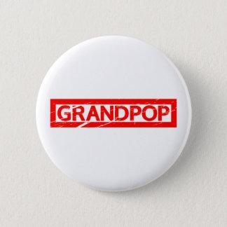 Chapa Redonda De 5 Cm Sello de Grandpop