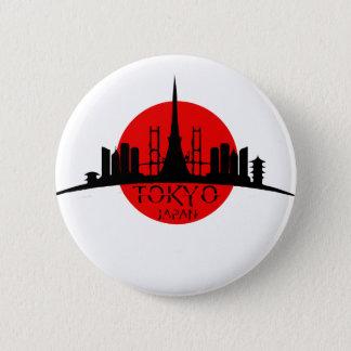 Chapa Redonda De 5 Cm Señal de Tokio