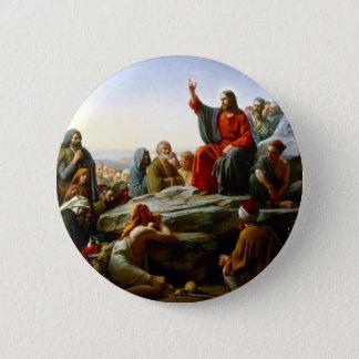 Chapa Redonda De 5 Cm Sermón de la montaña