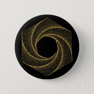 Chapa Redonda De 5 Cm Símbolo sagrado de la geometría