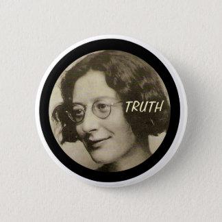 Chapa Redonda De 5 Cm Simone Weil