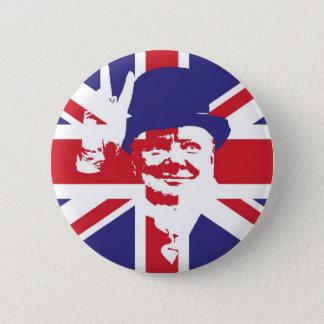 Chapa Redonda De 5 Cm Sir Winston Churchill