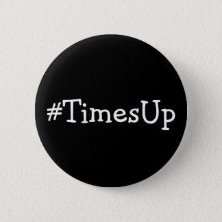 Chapa Redonda De 5 Cm Solidaridad del #TimesUp contra abuso y el acoso