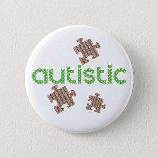Chapa Redonda De 5 Cm Soy conciencia autística