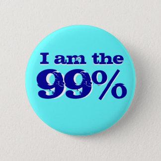 Chapa Redonda De 5 Cm Soy el 99 por ciento