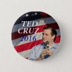 Chapa Redonda De 5 Cm Ted Cruz para el presidente