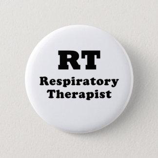 Chapa Redonda De 5 Cm Terapeuta respiratorio