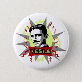 Chapa Redonda De 5 Cm Tesla