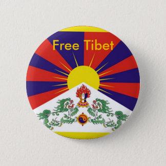 Chapa Redonda De 5 Cm Tíbet libre