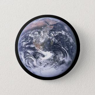 Chapa Redonda De 5 Cm Tierra del planeta - nuestro mundo