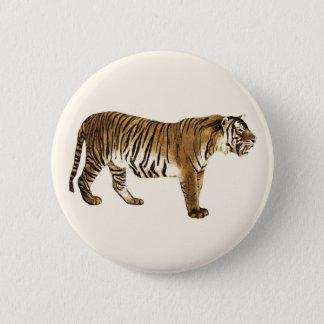 Chapa Redonda De 5 Cm Tigre