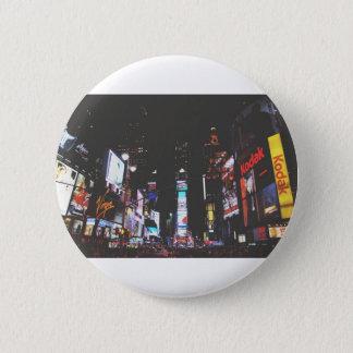 Chapa Redonda De 5 Cm Times Square New York City