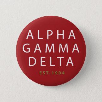 Chapa Redonda De 5 Cm Tipo moderno del delta gamma alfa