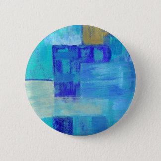 Chapa Redonda De 5 Cm Todavía riega alrededor del Pin de la pintura