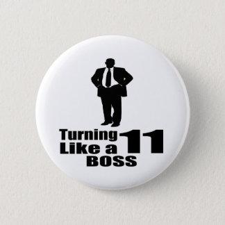 Chapa Redonda De 5 Cm Torneado de 11 como Boss