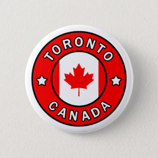 Chapa Redonda De 5 Cm Toronto Canadá