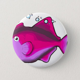 Chapa Redonda De 5 Cm ¡Triggerfish!