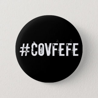 Chapa Redonda De 5 Cm Triunfo de Hashtag del gorjeo del pío de Covfefe