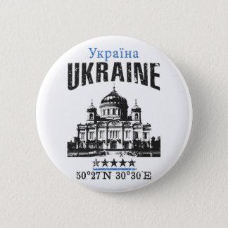 Chapa Redonda De 5 Cm Ucrania