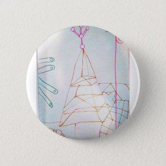 Chapa Redonda De 5 Cm Un juego de la cuenta de cristal de los geómetras
