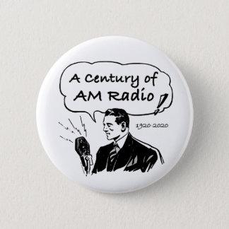 Chapa Redonda De 5 Cm Un siglo de radio de la