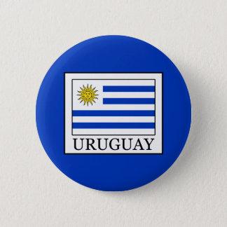 Chapa Redonda De 5 Cm Uruguay