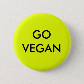 Chapa Redonda De 5 Cm Va la insignia del vegano