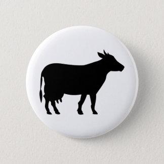 Chapa Redonda De 5 Cm vaca