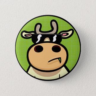 Chapa Redonda De 5 Cm Vacas frescas