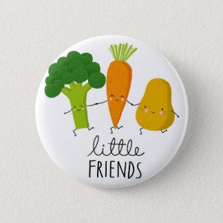 Chapa Redonda De 5 Cm verduras jóvenes