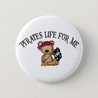 Chapa Redonda De 5 Cm Vida de los piratas para mí