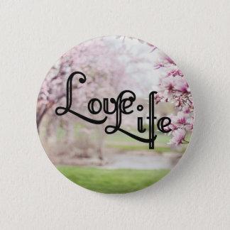 Chapa Redonda De 5 Cm Vida del amor