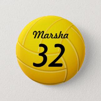 Chapa Redonda De 5 Cm Voleibol