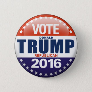 Chapa Redonda De 5 Cm Voto Donald Trump para el presidente 2016