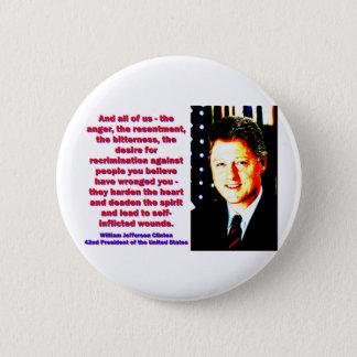 Chapa Redonda De 5 Cm Y todos nosotros - Bill Clinton