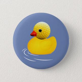 Chapa Redonda De 5 Cm Yellow rubber duck
