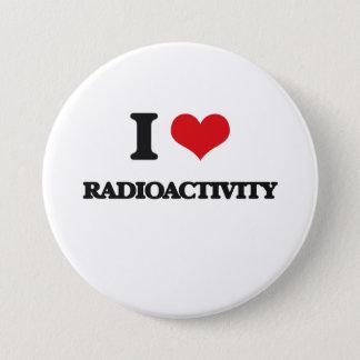 Chapa Redonda De 7 Cm Amo radiactividad