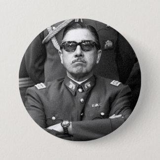 Chapa Redonda De 7 Cm Augusto Pinochet