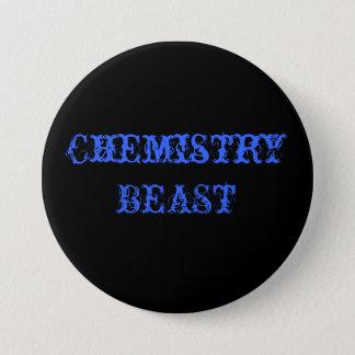 Chapa Redonda De 7 Cm BESTIA de la química