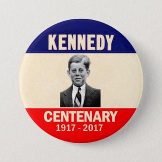 Chapa Redonda De 7 Cm Centenario 1917 - 2017 de Kennedy