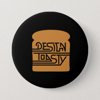 Chapa Redonda De 7 Cm Designtoasty Retro Button