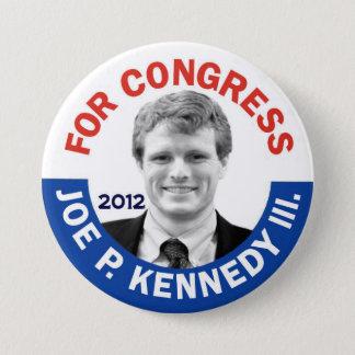 Chapa Redonda De 7 Cm Joe P. Kennedy III para el congreso 2012