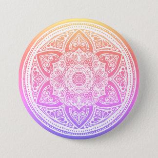 Chapa Redonda De 7 Cm Mandala de Bardh de la edición especial
