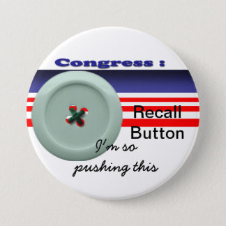 Chapa Redonda De 7 Cm Memoria del congreso