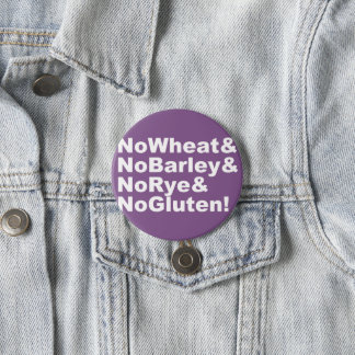 Chapa Redonda De 7 Cm ¡NoWheat&NoBarley&NoRye&NoGluten! (blanco)