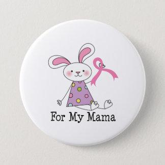 Chapa Redonda De 7 Cm Para mi conciencia del cáncer de la mamá pecho